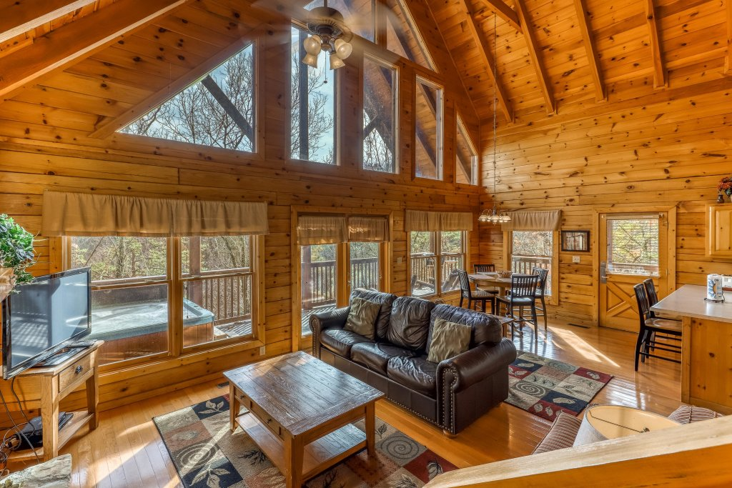 Photo of a Pigeon Forge Cabin named Affair Of The Heart - This is the first photo in the set.