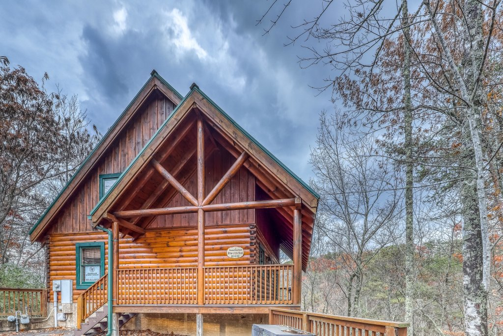 Photo of a Pigeon Forge Cabin named Affair Of The Heart - This is the second photo in the set.