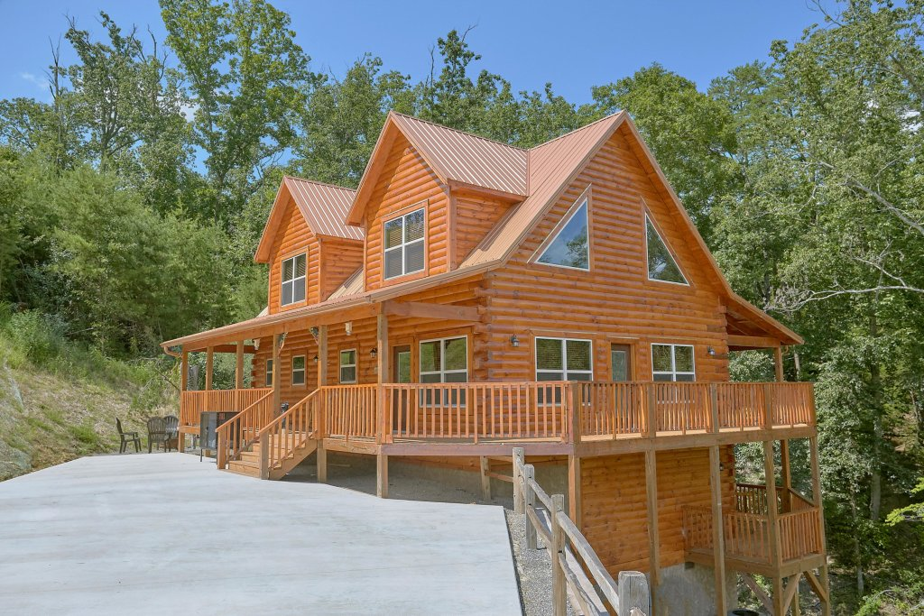 Photo of a Sevierville Cabin named Timber Woods Lodge - This is the thirty-fifth photo in the set.