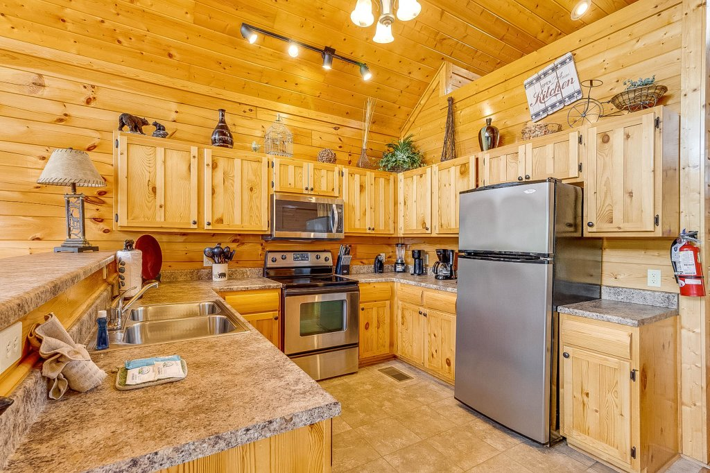 Photo of a Pigeon Forge Cabin named View Of Paradise - This is the twelfth photo in the set.