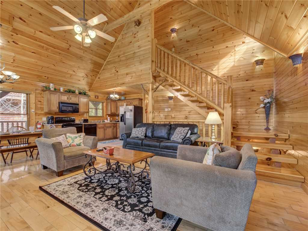 Photo of a Gatlinburg Cabin named Truly Blessed - This is the first photo in the set.