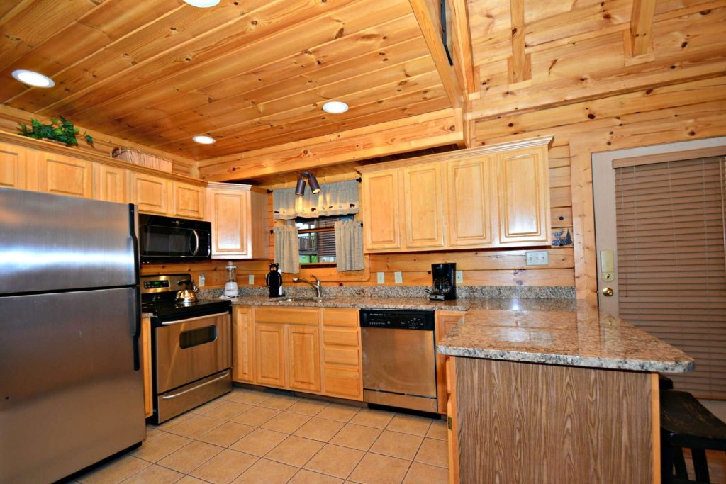 Photo of a Sevierville Cabin named Smoky Mountain Haven - This is the fifth photo in the set.