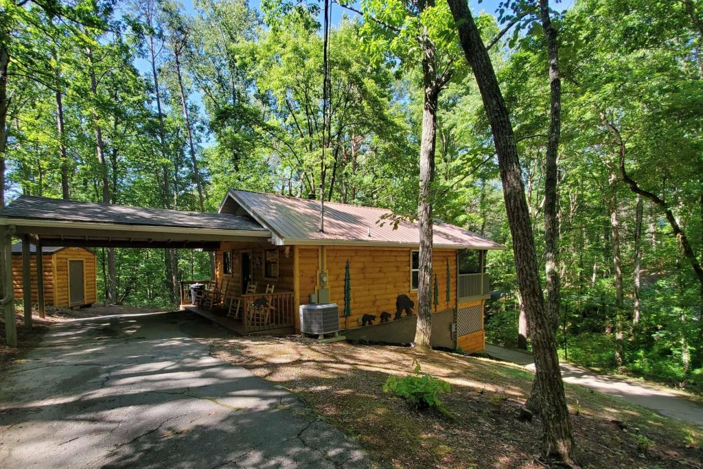 Photo of a Sevierville Cabin named Black Bear Paws - This is the seventeenth photo in the set.