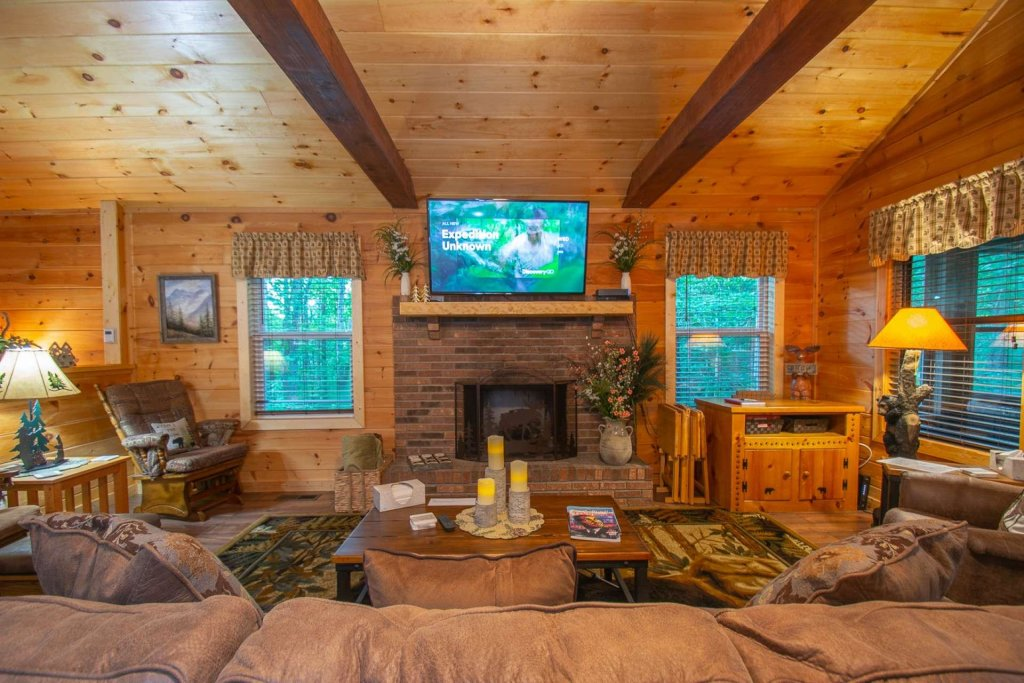 Photo of a Sevierville Cabin named Black Bear Paws - This is the sixteenth photo in the set.
