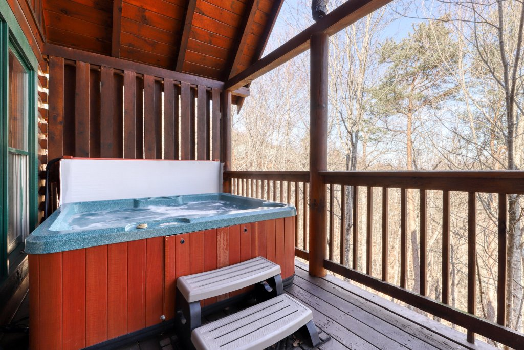 Photo of a Pigeon Forge Cabin named Robin's Rest - This is the second photo in the set.