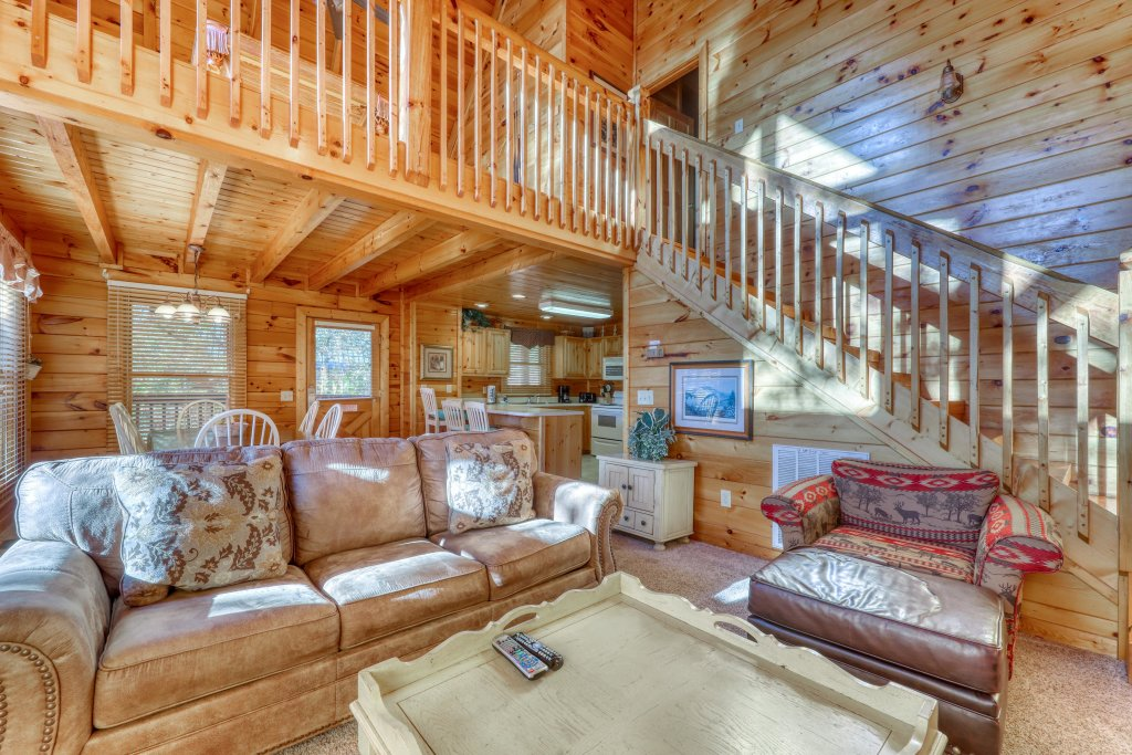 Photo of a Pigeon Forge Cabin named Almost Heaven - This is the twelfth photo in the set.