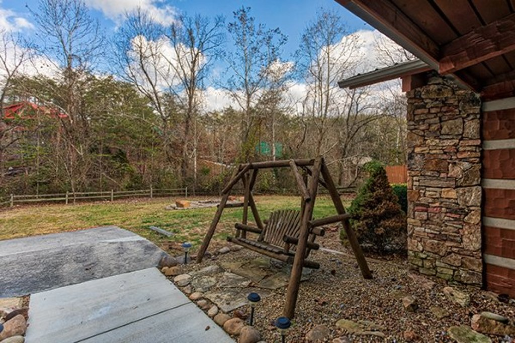 Photo of a Sevierville Cabin named Rustic Ranch - This is the twentieth photo in the set.