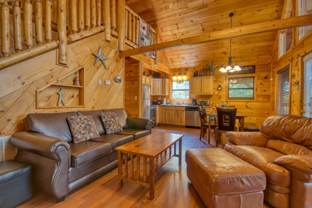 Photo of a Pigeon Forge Cabin named Dare To Bear #238 - This is the fifth photo in the set.