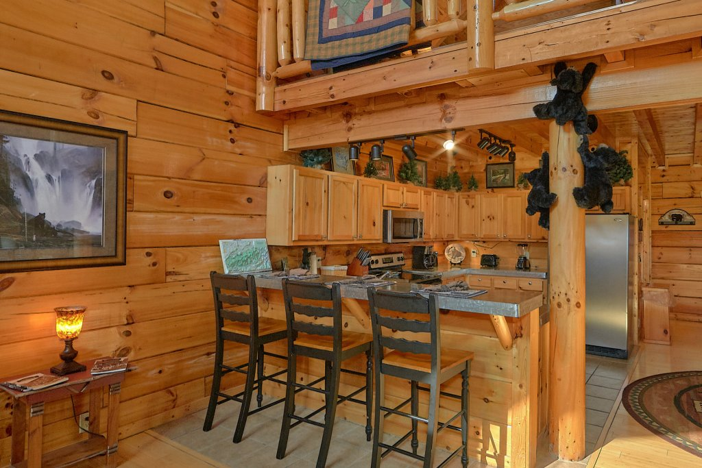 Photo of a Sevierville Cabin named It's All Good - This is the thirteenth photo in the set.