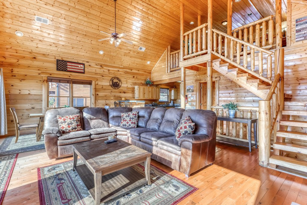 Photo of a Sevierville Cabin named Paradise Retreat - This is the fifth photo in the set.