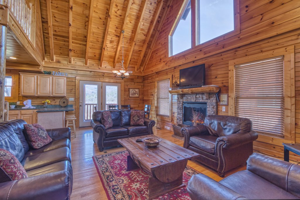 Photo of a Sevierville Cabin named Dream Come True #555 - This is the fifth photo in the set.