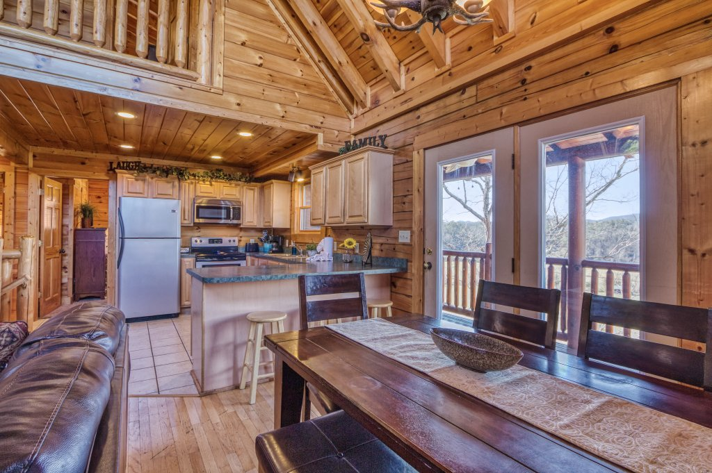 Photo of a Sevierville Cabin named Dream Come True #555 - This is the twentieth photo in the set.