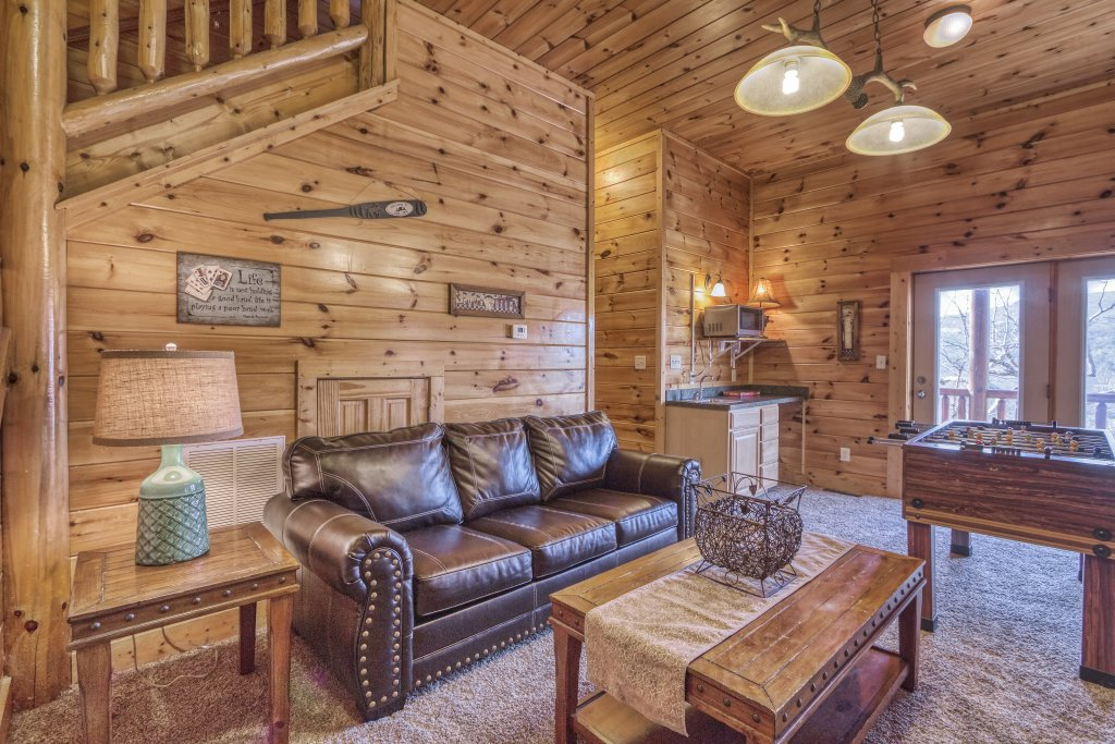 Photo of a Sevierville Cabin named Dream Come True #555 - This is the thirty-seventh photo in the set.