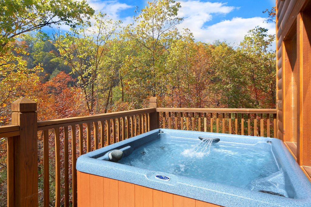 Photo of a Gatlinburg Cabin named Chalet D'amour - This is the fourth photo in the set.