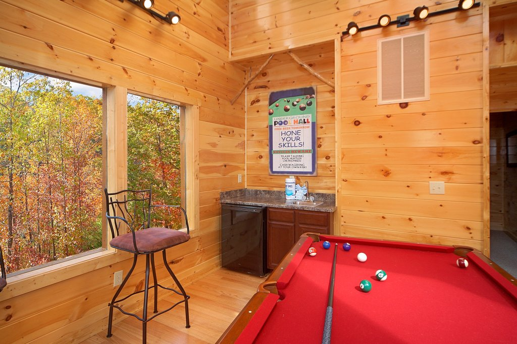 Photo of a Gatlinburg Cabin named Chalet D'amour - This is the sixth photo in the set.