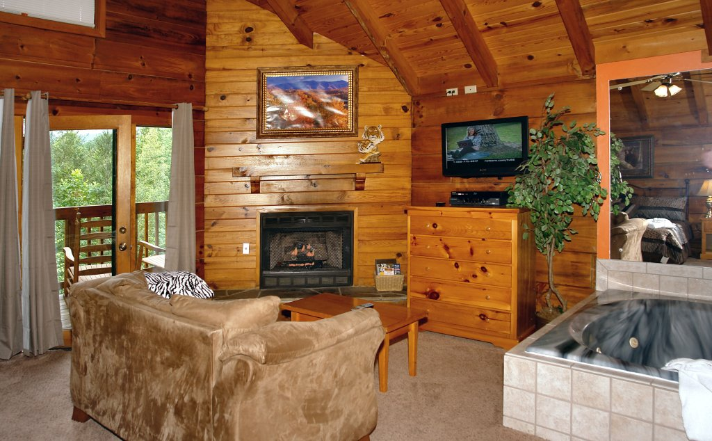 Photo of a Gatlinburg Cabin named Wild Thing #1525 - This is the twenty-fourth photo in the set.