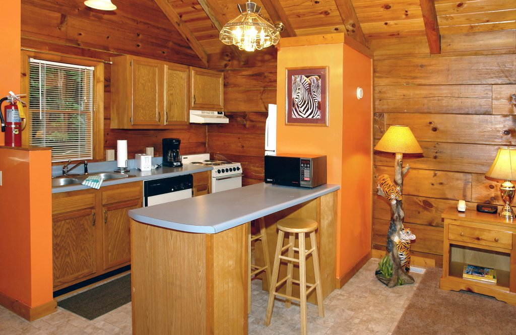 Photo of a Gatlinburg Cabin named Wild Thing #1525 - This is the sixth photo in the set.