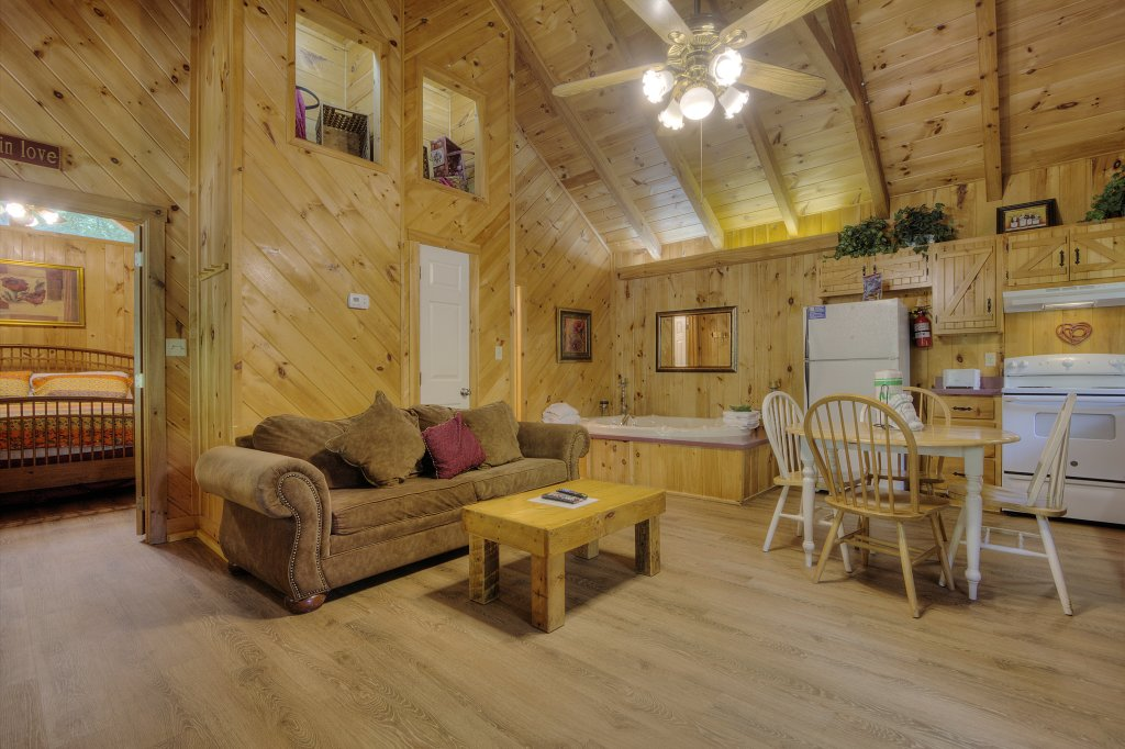 Photo of a Pigeon Forge Cabin named Stream Of Love #374 - This is the thirty-second photo in the set.