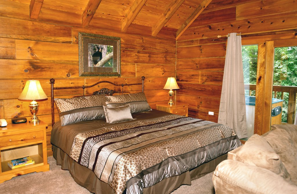 Photo of a Gatlinburg Cabin named Wild Thing #1525 - This is the second photo in the set.