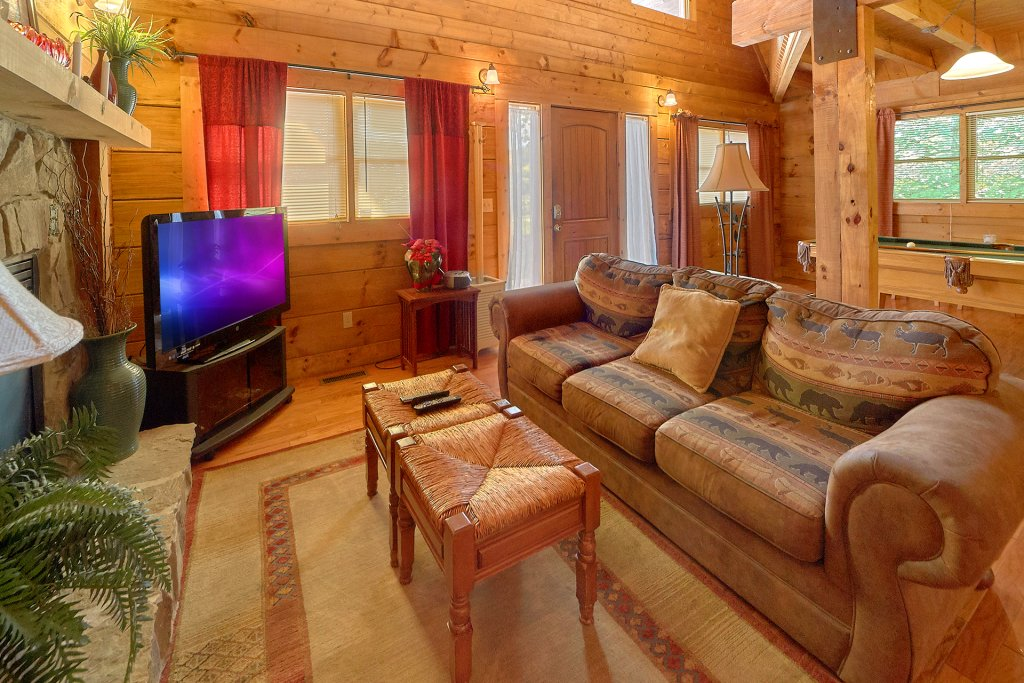 Photo of a Sevierville Cabin named Hidden Romance #1404 - This is the twenty-sixth photo in the set.