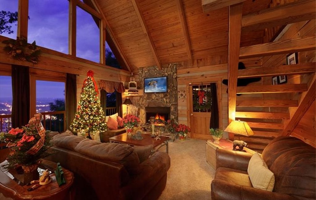 Photo of a Pigeon Forge Cabin named Eagle's View - This is the sixty-second photo in the set.