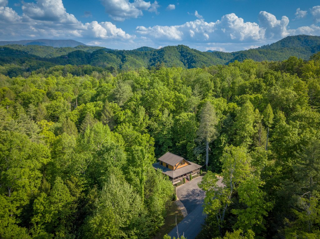 Photo of a Sevierville Cabin named Cedar Forest - This is the fourth photo in the set.