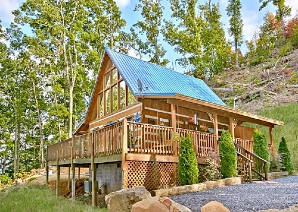 Photo of a Pigeon Forge Cabin named Eagle's View - This is the thirty-fourth photo in the set.