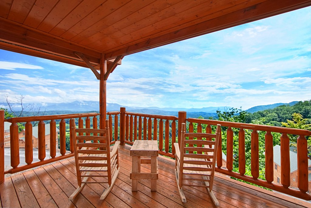 Photo of a Pigeon Forge Cabin named Summit Views (#74) - This is the first photo in the set.