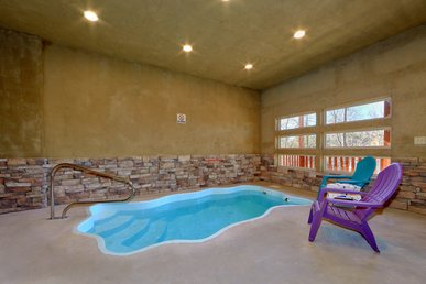Private Indoor Pool Cabin Close To All The Fun!