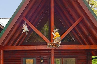 2 Bedroom Luxury Cabin With 2 Master Suites And Private Deck - Free Wireless!