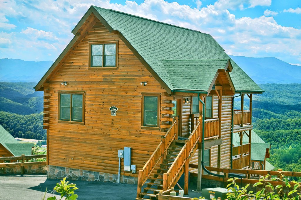 Photo of a Pigeon Forge Cabin named A Glimpse Of Heaven - This is the twenty-second photo in the set.