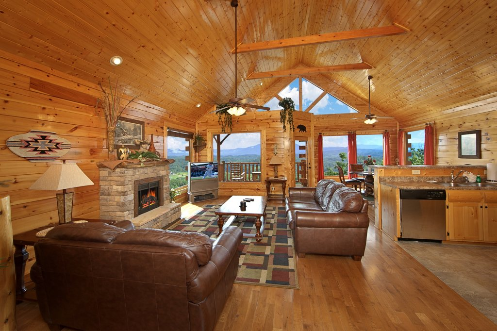 Photo of a Pigeon Forge Cabin named Ridgetop Retreat (#50) - This is the fifth photo in the set.