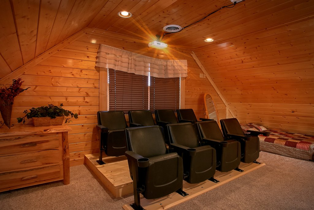 Photo of a Pigeon Forge Cabin named A Glimpse Of Heaven - This is the third photo in the set.