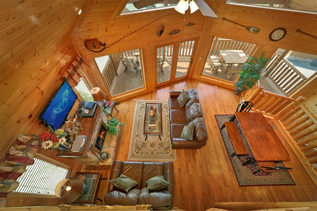 Photo of a Pigeon Forge Cabin named A Glimpse Of Heaven - This is the eighth photo in the set.