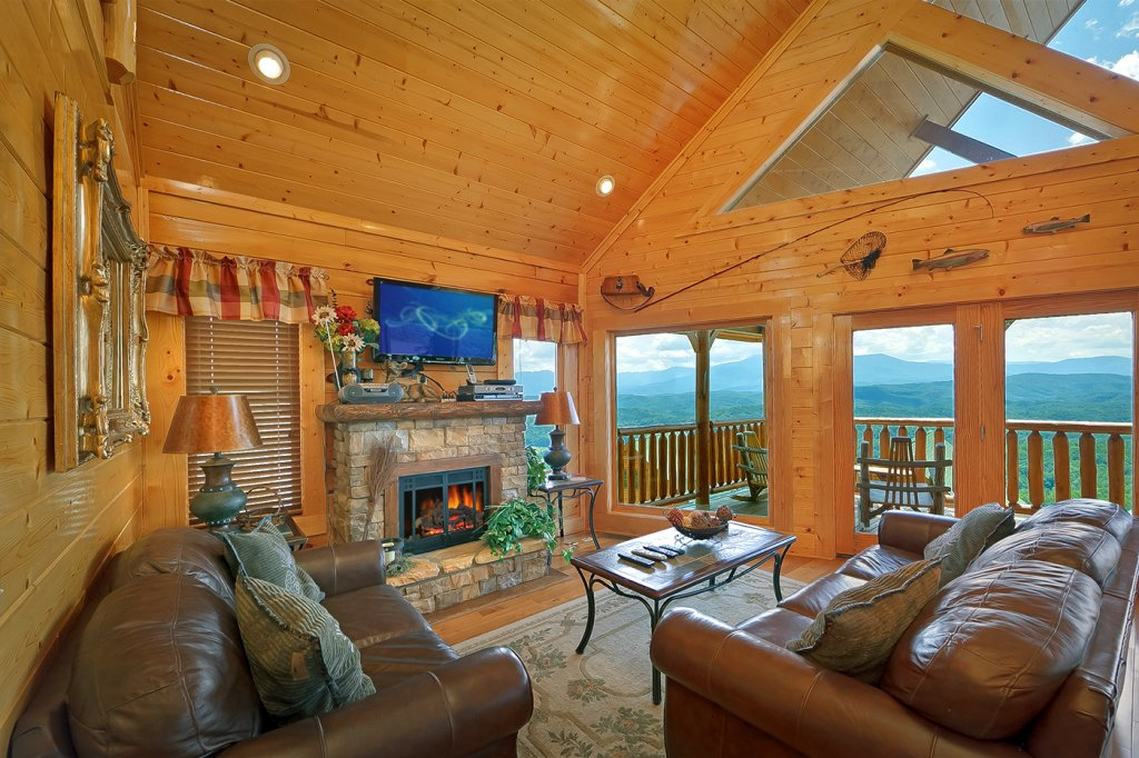 Photo of a Pigeon Forge Cabin named A Glimpse Of Heaven - This is the twenty-third photo in the set.