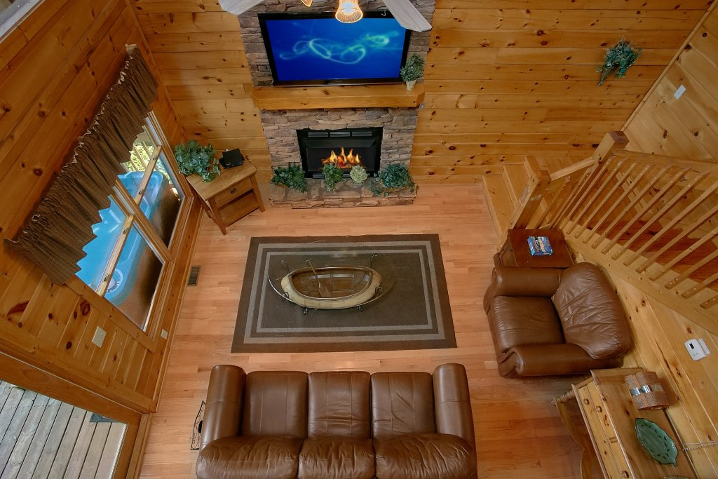 Photo of a Pigeon Forge Cabin named A Mountain View Theater Lodge - This is the ninth photo in the set.