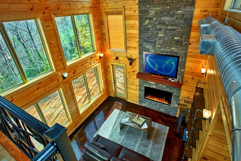 Photo of a Gatlinburg Cabin named Urban Cowboy - This is the eleventh photo in the set.