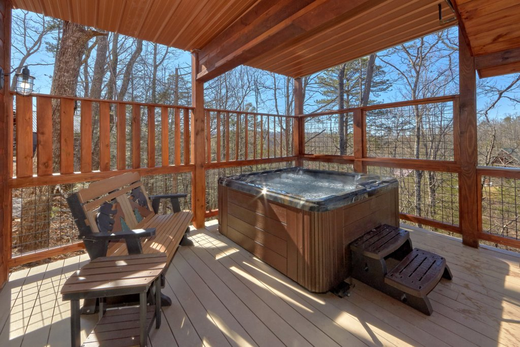Photo of a Gatlinburg Cabin named Copper Creek Lodge - This is the tenth photo in the set.