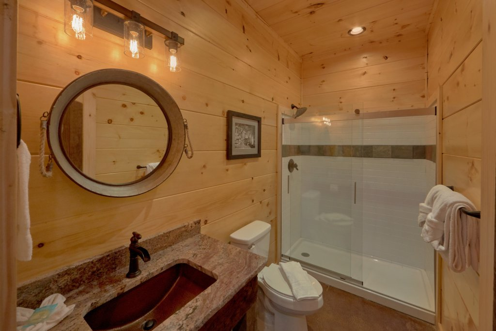Photo of a Gatlinburg Cabin named Copper Creek Lodge - This is the forty-seventh photo in the set.