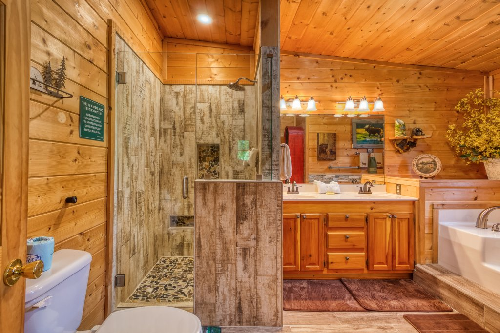 Photo of a Sevierville Cabin named Lazy Bear Ranch #430 - This is the thirty-first photo in the set.