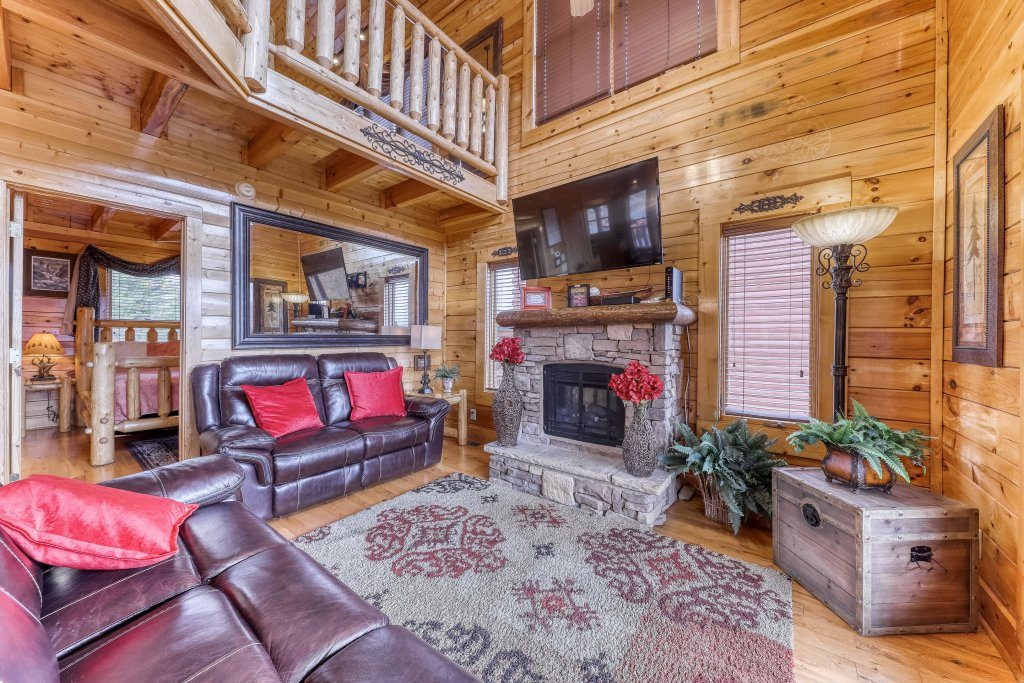 Photo of a Sevierville Cabin named Happy Place - This is the seventh photo in the set.