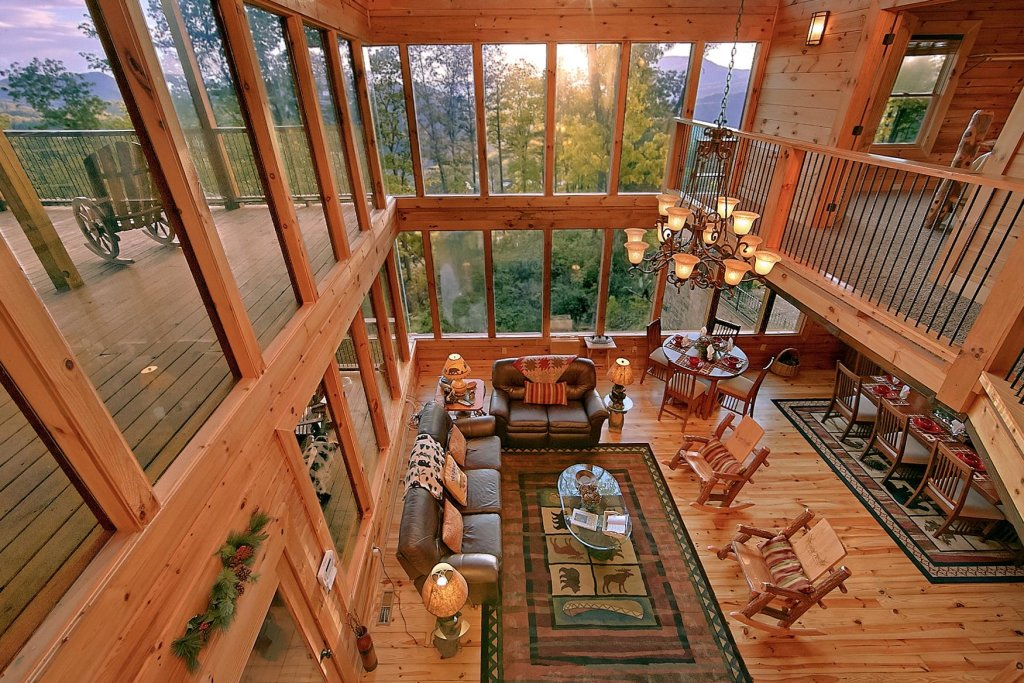 Photo of a Sevierville Cabin named Mountain Magic #73 - This is the twenty-sixth photo in the set.