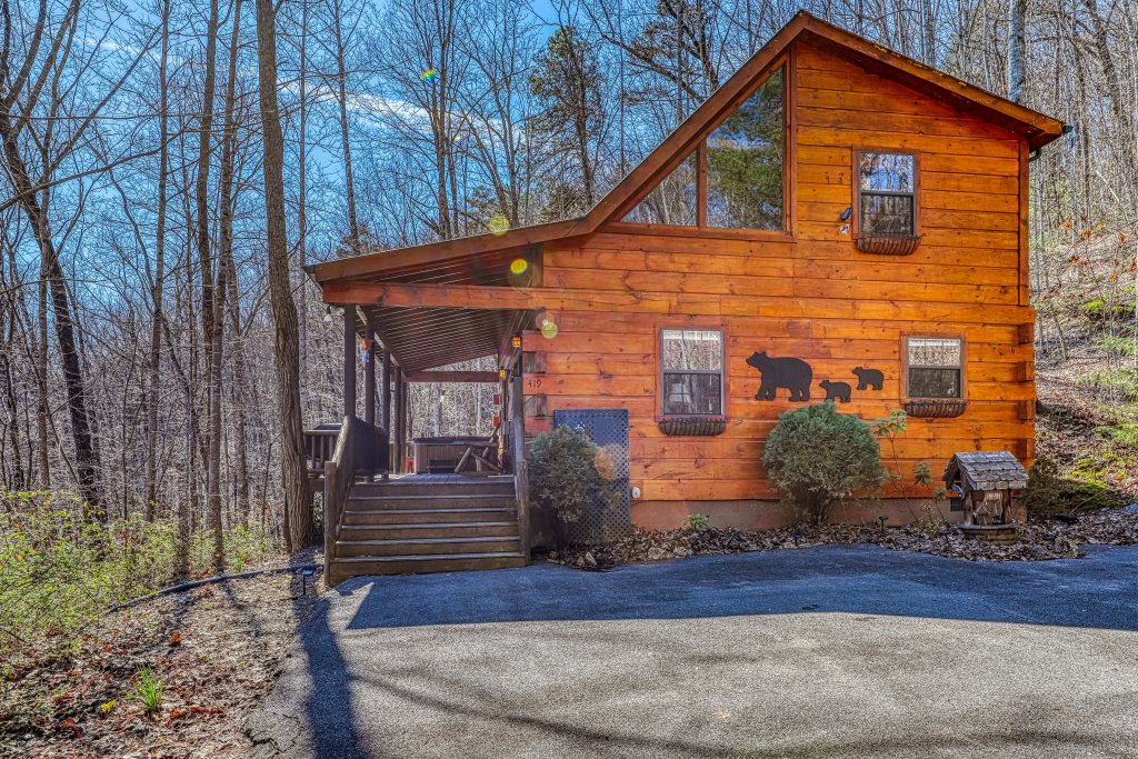 Photo of a Pigeon Forge Cabin named Moonshine Ridge - This is the twenty-fourth photo in the set.