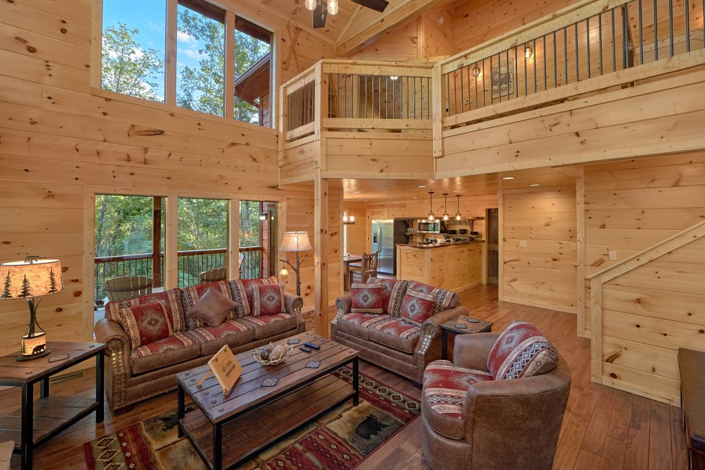 Photo of a Gatlinburg Cabin named Big Sky Lodge - This is the eighteenth photo in the set.