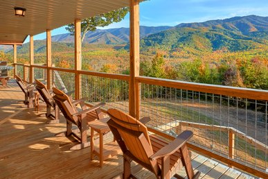 Luxurious Cabin With Amazing Views From Your Outdoor Living Room