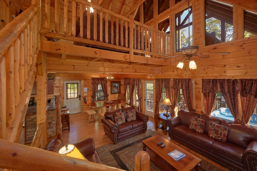 Photo of a Gatlinburg Cabin named Buckwild - This is the eighteenth photo in the set.