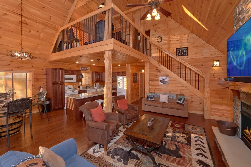 Photo of a Sevierville Cabin named Blessed Point - This is the sixteenth photo in the set.