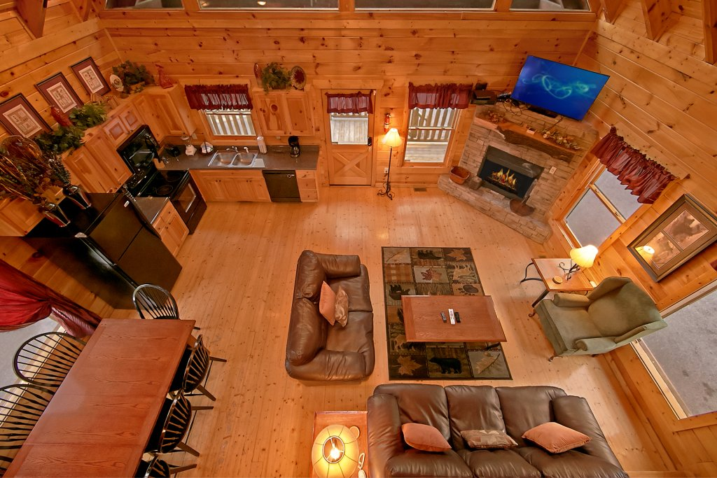 Photo of a Pigeon Forge Cabin named Breathtaking Views - This is the seventh photo in the set.