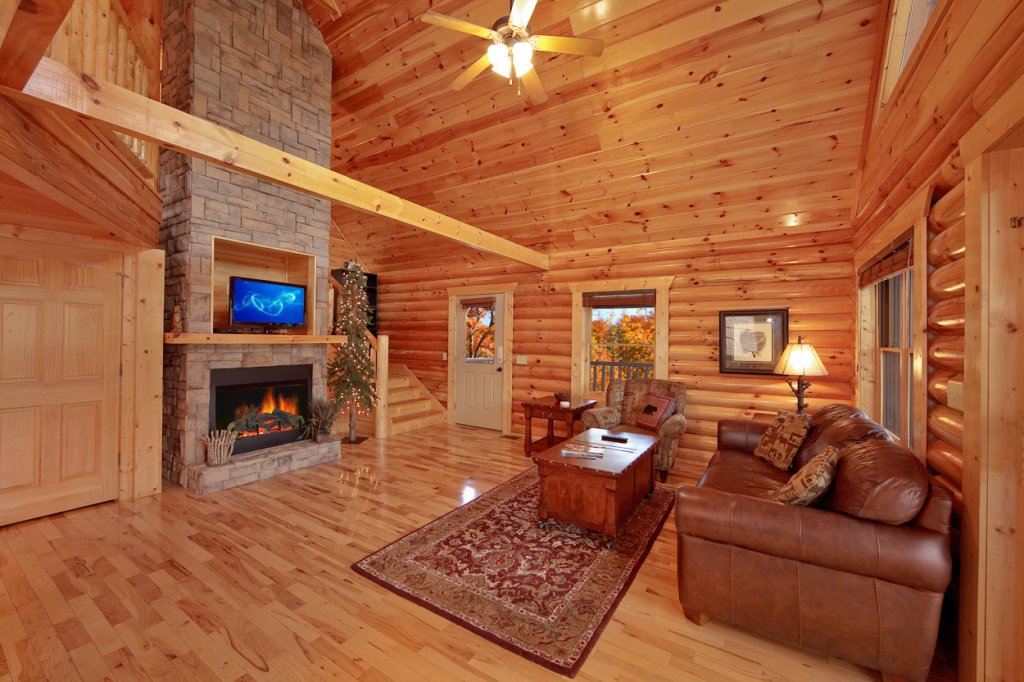 Photo of a Gatlinburg Cabin named Blackjack - This is the seventh photo in the set.