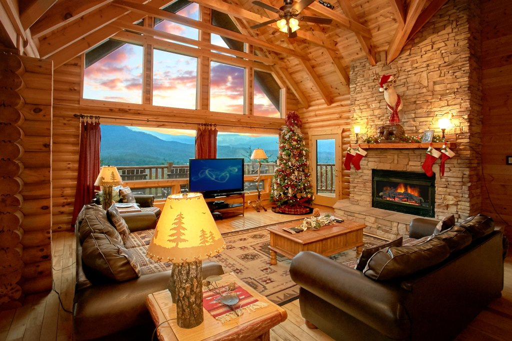Photo of a Gatlinburg Cabin named Heavenly Heights - This is the eighth photo in the set.
